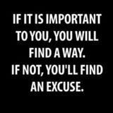 if not you will find an escuse