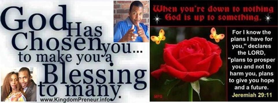 God Chosen Hope Blessings
