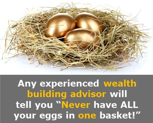 Any wealth advisor will advise you